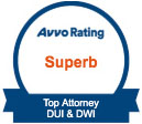 Superb Avva Rating - Top Attorney DUI & DWI